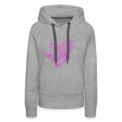 roze - Vrouwen Premium hoodie