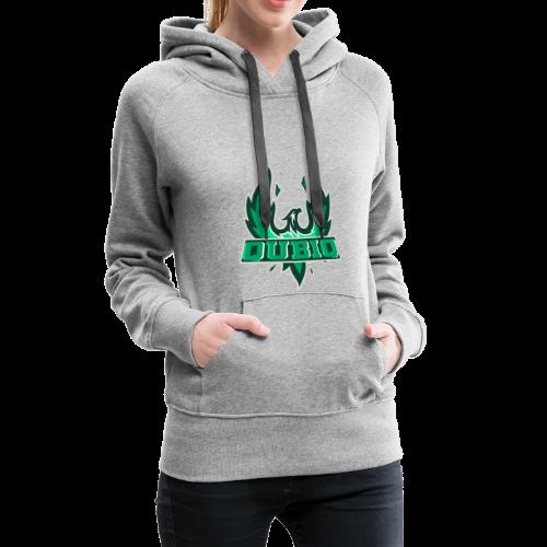 Qubiq • Logo - Frauen Premium Hoodie