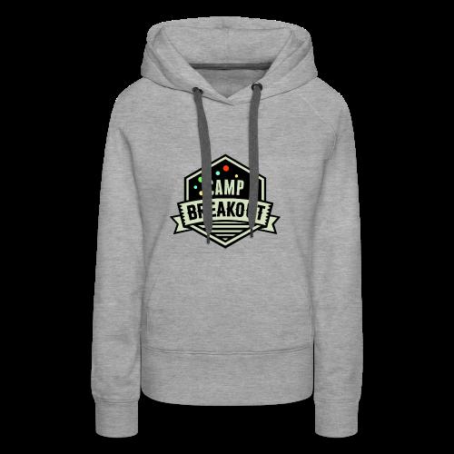 Camp Breakout Logo 2018 - Frauen Premium Hoodie