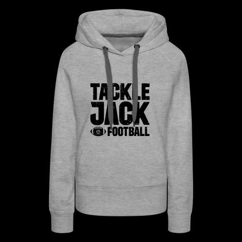 TJ FOOTBALL Block - Frauen Premium Hoodie