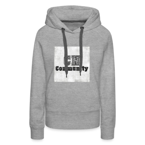 CN Community Logo - Vrouwen Premium hoodie