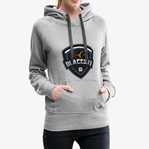 Blackout - Sweat-shirt à capuche Premium pour femmes