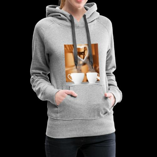 sticallbats coffee for two - Women's Premium Hoodie