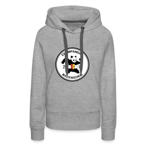 Champandas Logo - Frauen Premium Hoodie