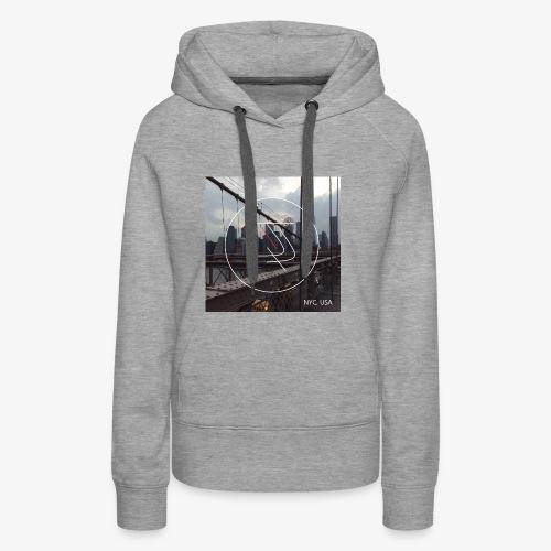 JiaLi NYC - Sweat-shirt à capuche Premium pour femmes