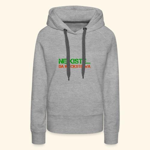 Pumpen - Frauen Premium Hoodie
