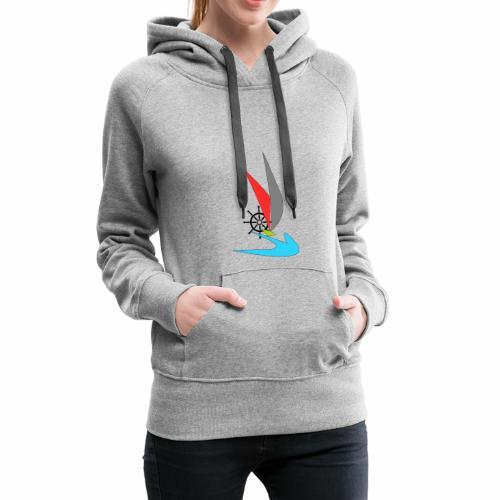 Bateau - Sweat-shirt à capuche Premium pour femmes