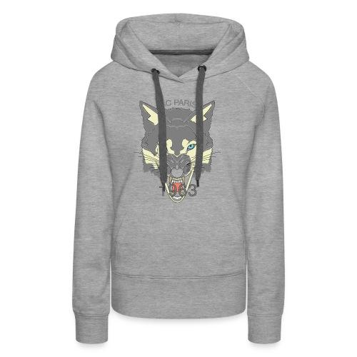 Loup ISC Promo - Sweat-shirt à capuche Premium pour femmes