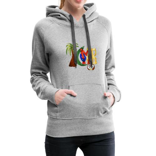 Com'OR - Sweat-shirt à capuche Premium pour femmes