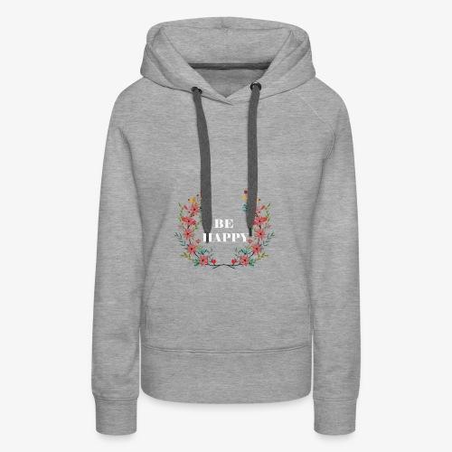 Blumen2 - Frauen Premium Hoodie