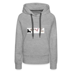 Soldat - Sweat-shirt à capuche Premium pour femmes
