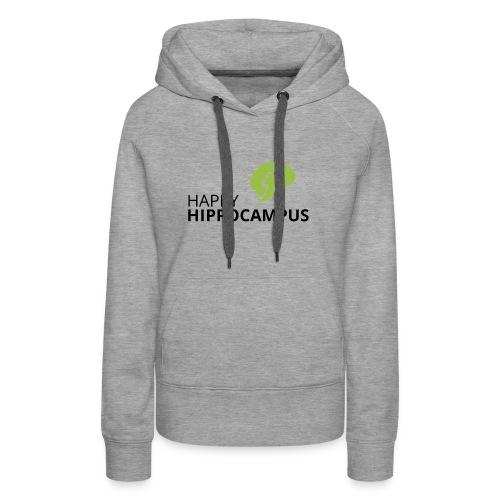 HappyHippocampus - Frauen Premium Hoodie