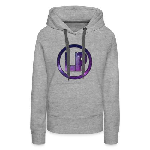 Luxipuff Logo - Dame Premium hættetrøje