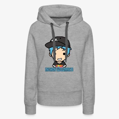 Logo met naam - Vrouwen Premium hoodie