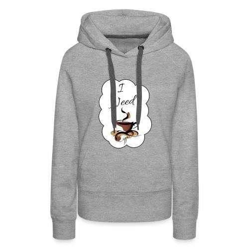 Design Coffee - Frauen Premium Hoodie