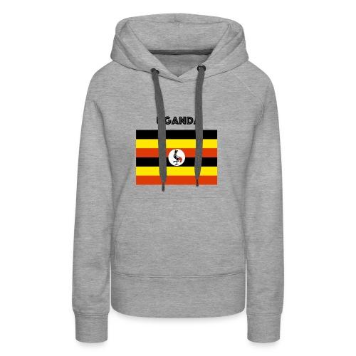 uganda shirt online - Women's Premium Hoodie