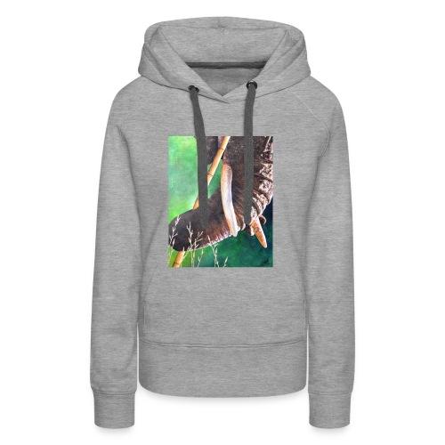 Muismat Olifantendesign - Vrouwen Premium hoodie