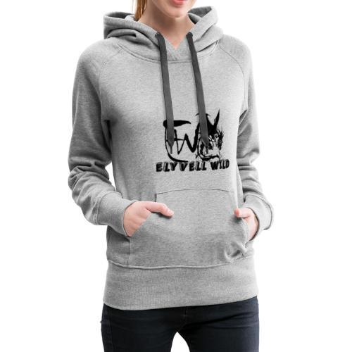 ELYVELL WILD - Sweat-shirt à capuche Premium pour femmes