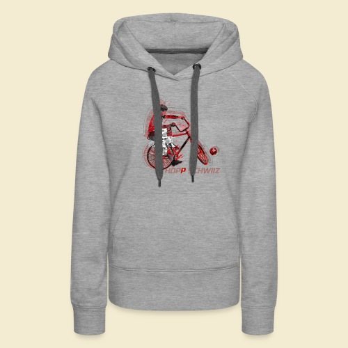 Radball | Hopp Schwiiz - Frauen Premium Hoodie