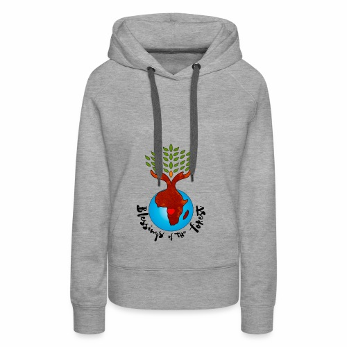 Blessings Of The Forest - Women's Premium Hoodie