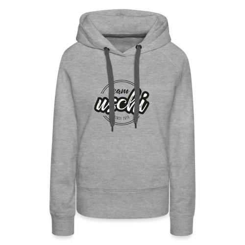 Team Uschi Schwarz original - Frauen Premium Hoodie
