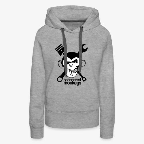 spanneredmonkeys-monkeyface - Women's Premium Hoodie