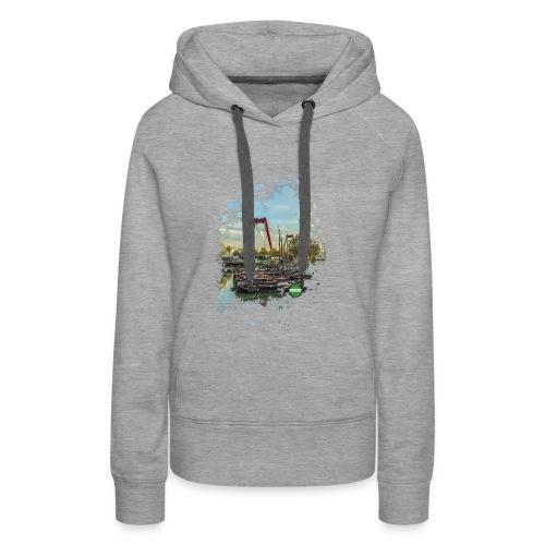 rotterdam splash oude haven 2mini fw - Vrouwen Premium hoodie