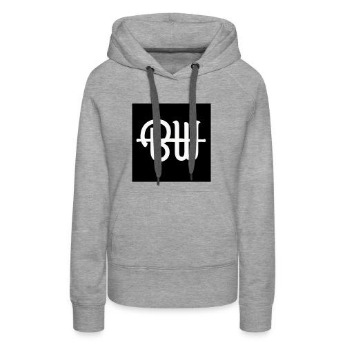 BW simple logo - Vrouwen Premium hoodie
