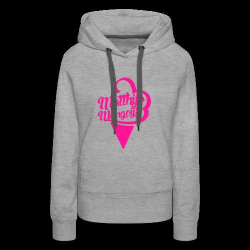 Matthijs Mangoijs Pink Women - Vrouwen Premium hoodie