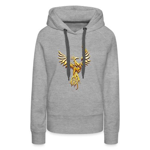 goldphoenix - Sweat-shirt à capuche Premium pour femmes