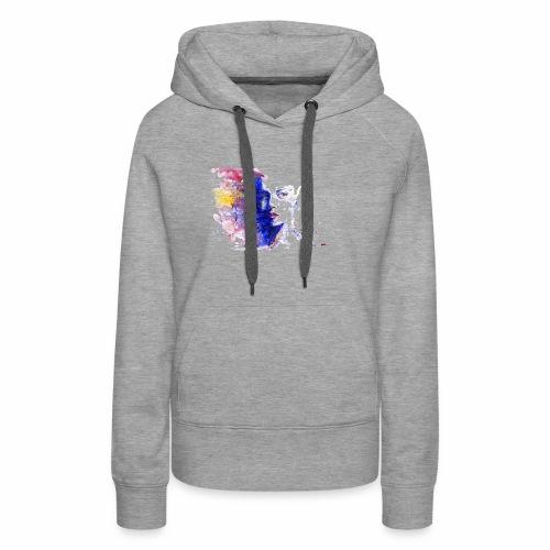 Visage design - Sweat-shirt à capuche Premium pour femmes