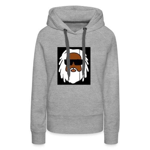 AFROJAZZ GRAND PA - Sweat-shirt à capuche Premium pour femmes