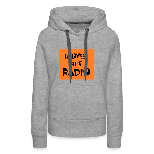 HALLOWEEN HIT RADIO FAN T-SHIRT - Frauen Premium Hoodie