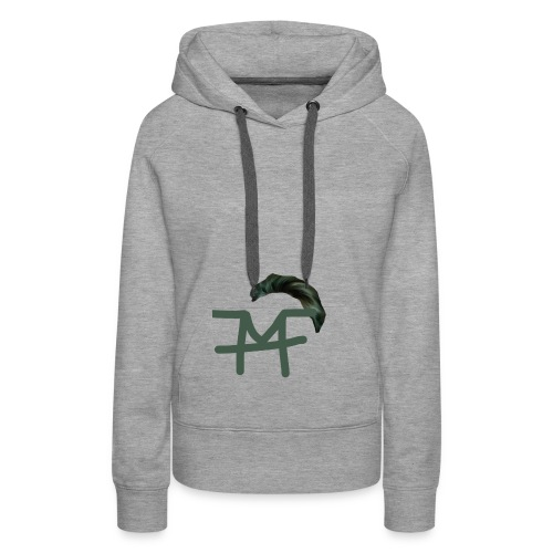 Haaaaaar design - Frauen Premium Hoodie