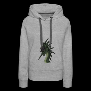 Sneaky officeal Monster Edition - Frauen Premium Hoodie