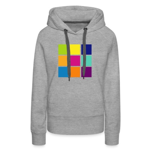 DarnWeird Nine - Vrouwen Premium hoodie