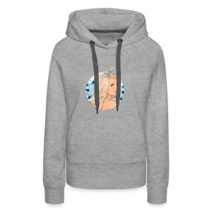 girl - Sudadera con capucha premium para mujer