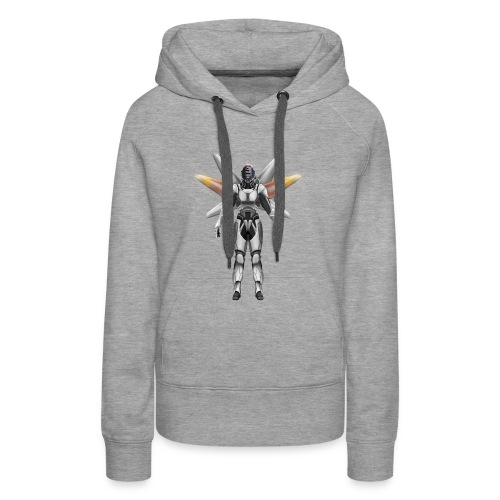 Robot with wings - Women's Premium Hoodie