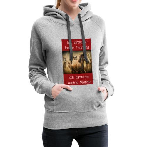 Pferde Tierfreunde, Geschenke, M50, s.unten - Frauen Premium Hoodie