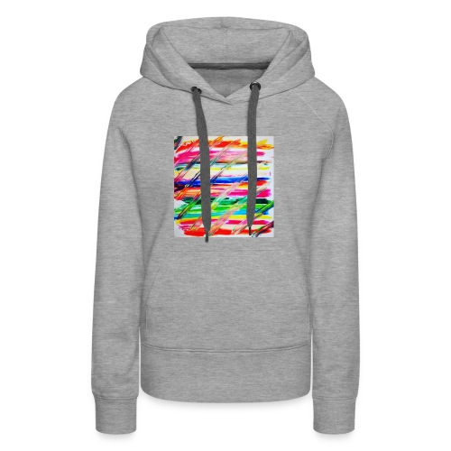 Rainbow Cross - Sweat-shirt à capuche Premium pour femmes