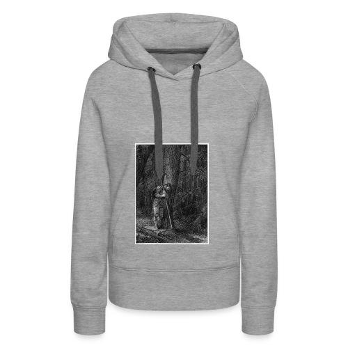 Lonely Warrior - Frauen Premium Hoodie