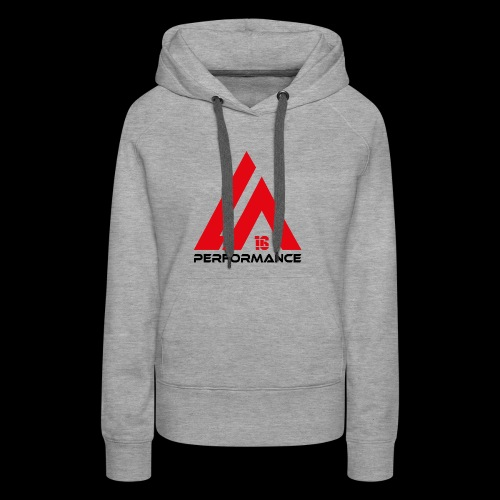 LA Performance red/black - Frauen Premium Hoodie