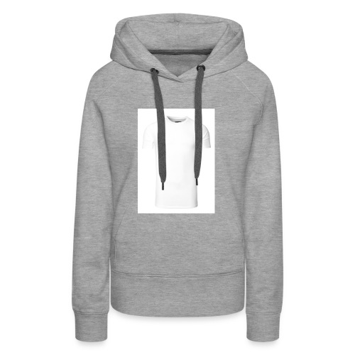 herren basic t shirt weiss - Frauen Premium Hoodie