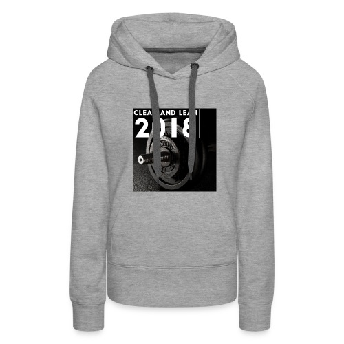 Clean and Lean 2018 - Women's Premium Hoodie