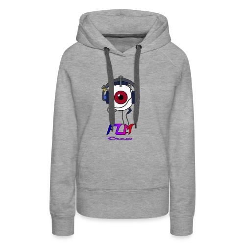 FLM Crew - Sweat-shirt à capuche Premium pour femmes
