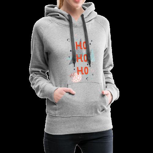 ho ho ho - Frauen Premium Hoodie