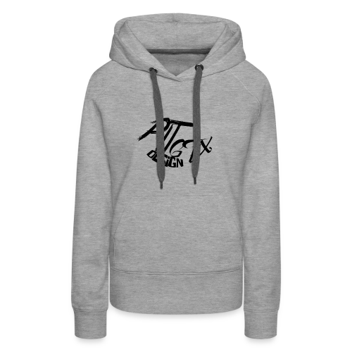 PitGFX Design Official T-Shirt - Felpa con cappuccio premium da donna