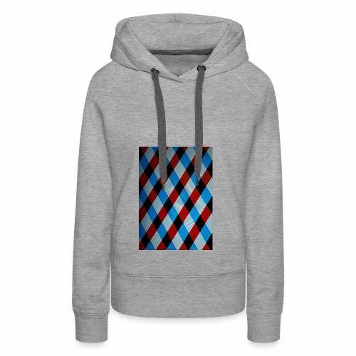 Karo - Frauen Premium Hoodie