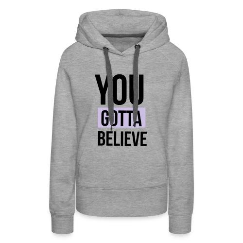YGB-merch-logo-001 - Vrouwen Premium hoodie