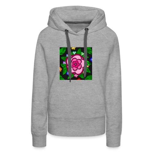 Flower Power - Frauen Premium Hoodie